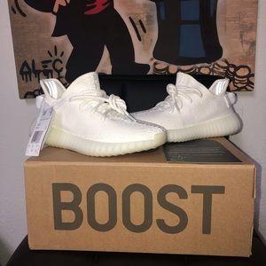 Adidas Yeezy Boost 350 Cream White Size 5 Women✅‼️